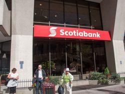 Bank of Nova Scotia main branch in Calgary, Alberta