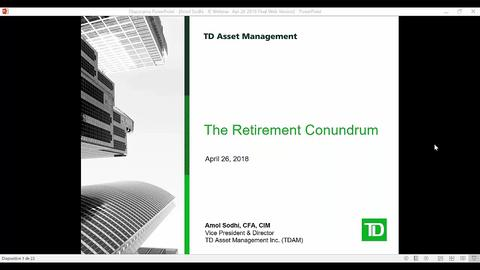 The Retirement Income Conundrum