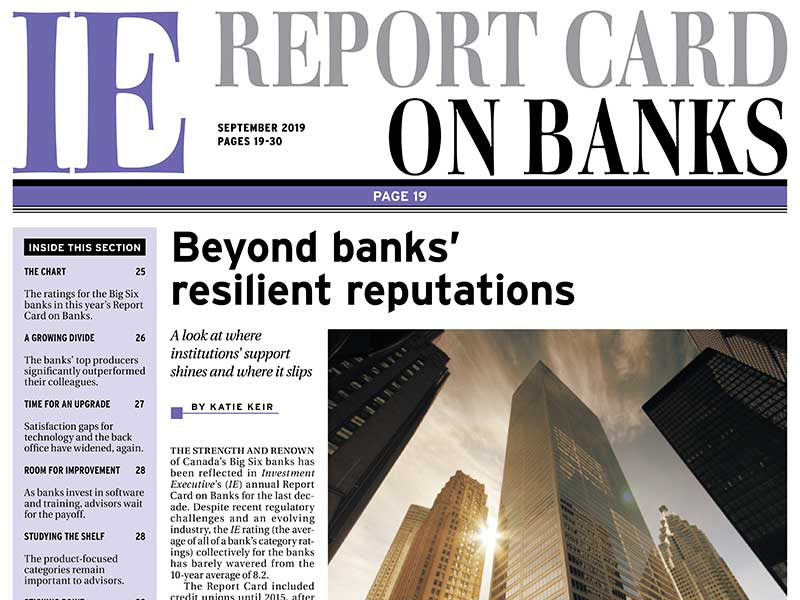 Report Card on Banks 2019
