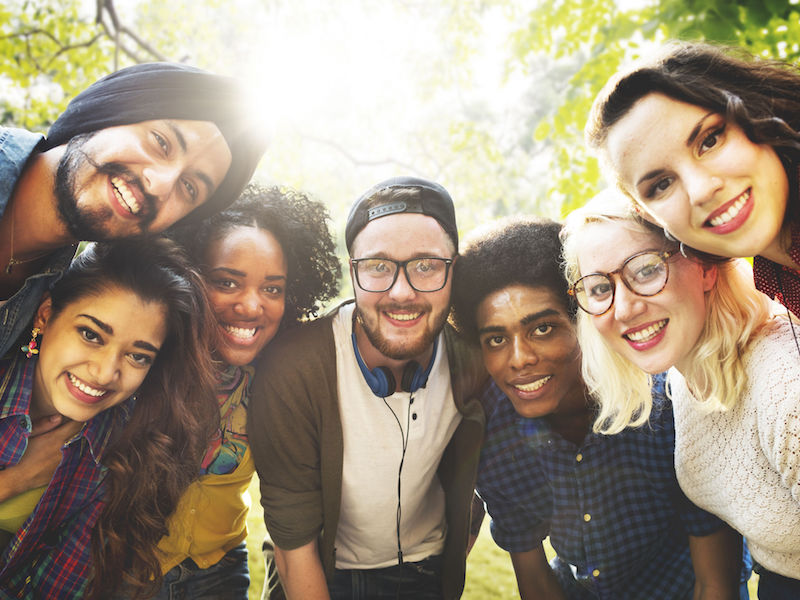 Diversity Friends Friendship Team Community Concept